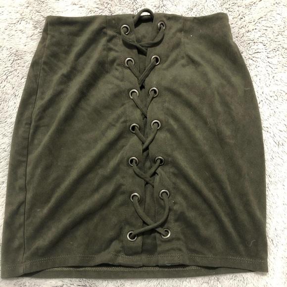 Windsor Dresses & Skirts - Suede skirt